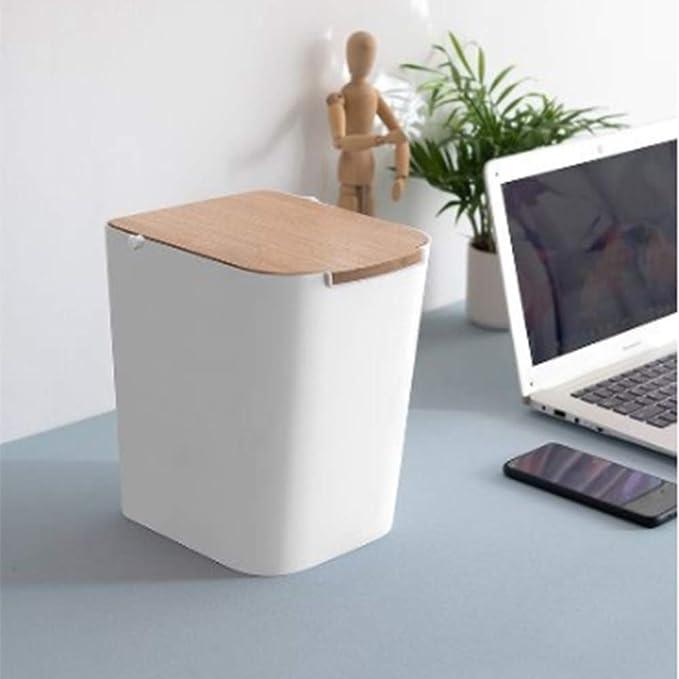 para encimera de casa Tapa abatible extra/íble para Mesa de mesas QUEENBACK Mini Papelera