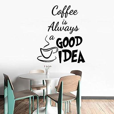 quotes wall sticker mural decal art home decor cafe shop decor
