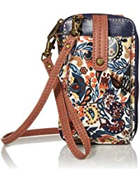 Sakroots Smartphone Wristlet, Clay Enchanted Forest