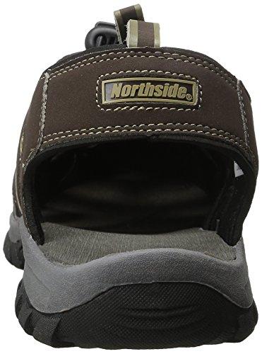 Dark Sport Northside Northside Mens Athletic Mens Burke II Sandal Brown SX8qXrw