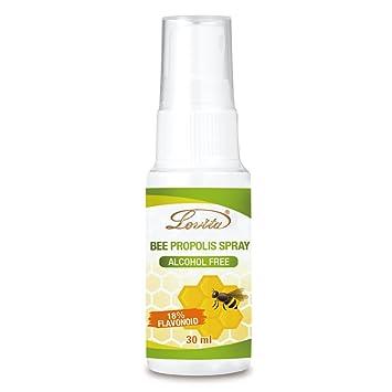 Amazon com: Lovita Bee Propolis Spray, 500mg/ml, 9:1 Extract