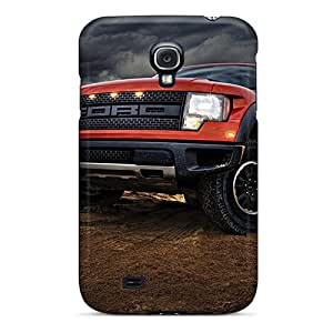 Scratch Protection Cell-phone Hard Covers For Samsung Galaxy S4 With Support Your Personal Customized Trendy Ford Truck Pictures ColtonMorrill