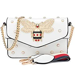 purses and Handbags,crossbody bags for women,handbags for women,purses,crossbody purses for women ,handbags,gucci bag,BNWVC Purses and Handbags for Women Fashion Shoulder Bags Bee Crossbody Bags ➤MATERIAL:PU Leather Shoulder Bag-Made of high ...