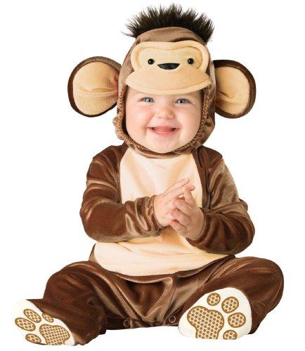 Mischievous Monkey (InCharacter Costumes Baby's Mischievous Monkey Costume, Brown/Cream,)
