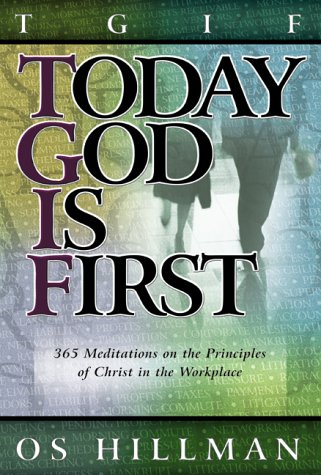 Download Today God Is First pdf