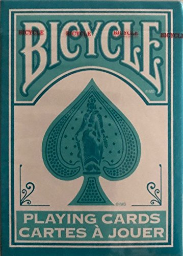 Bicycle Fashion Teal & White Playing Cards