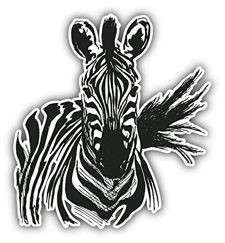 zebra car decals - 8