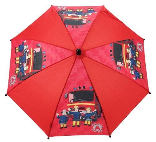 Parapluie motif Sam le pompier, pour enfant Fireman Sam SAM005013