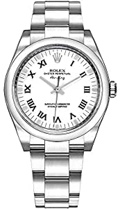 Rolex Oyster Perpetual Air-King 114200 34mm 904L Stainless Steel Oyster Bracelet Watch