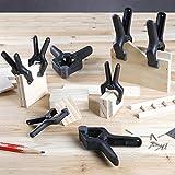 AmazonBasics 14-Piece Nylon Spring Clamp Set - 6