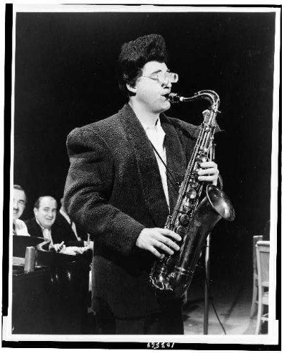 Photo  Kool Cees Sid Caesar Comedians Saxophones Scene Television Program Hour Nbc 1956