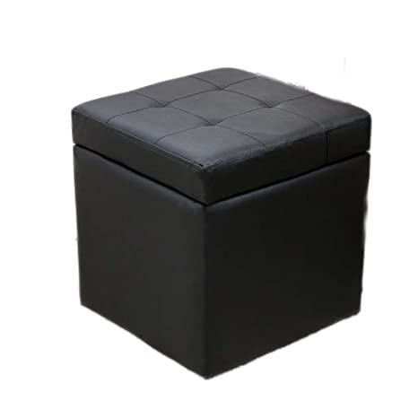 Amazon.com: GRJXMD Banco de almacenamiento de madera, caja ...