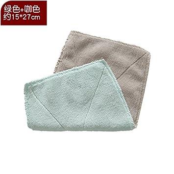 XIAOYANJIA Paño para lavar ropa absorbente pelusa engrosamiento fibra fina trapo de limpieza paño antiadherente toalla de plato de aceite para limpiar el ...