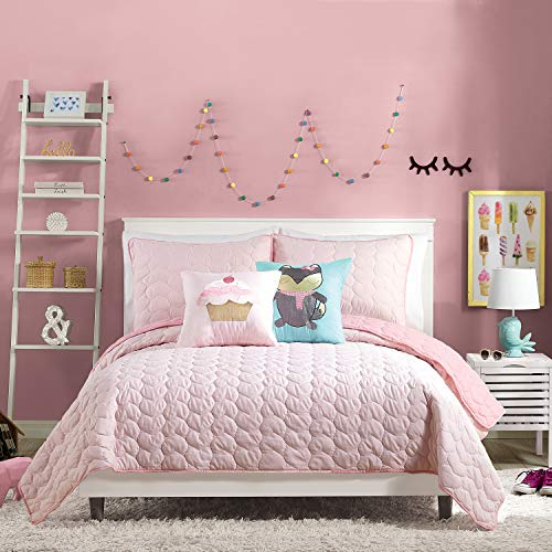 Urban Playground HELAINE QUILT SET FULL/QUEEN Pink
