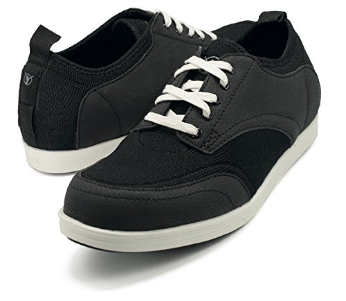 BackJoy StandRight Bliss Mens Lace Shoes Black/White
