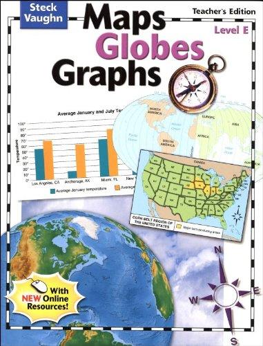 Download Maps Globes Graphs: Teacher's Guide, Level E Grade 5 2004 pdf