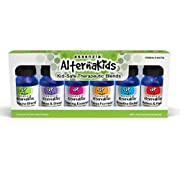 Aromatherapy Essential Oils for Kids by AlternaKids - 100% Pure, Undiluted, Therapeutic Essential Oil Blends for Sleep & Relaxation, Focus, Calming, Anxiety, Allergies, Cough and Growing Pains