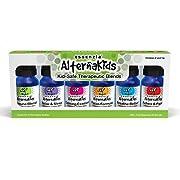 AlternaKidsAromatherapy Essential Oils Set from Essenzia |Essential Oils for Children HealthSet of 6 / 10ml bottles | 100%Pure Essential Oils, Undiluted, Therapeutic GradeKid Safe Synergies