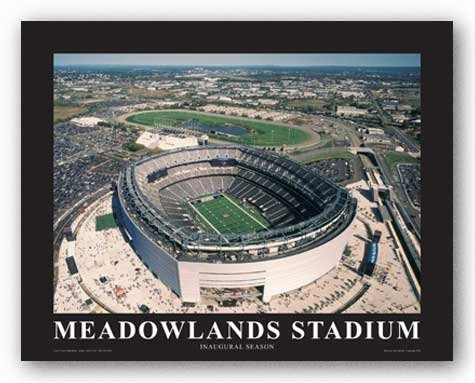 NY Giants at New Meadowlands Staium, Inaugural Season by Mike Smith - Aerial Views 8.5