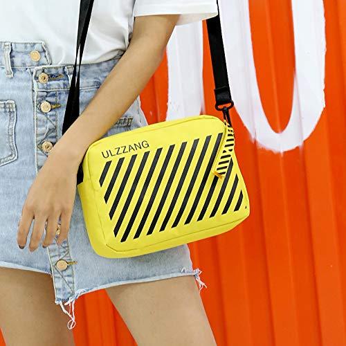 Yellow for Travel crossbody Bag Shoulder Women Shopping Lightweight Bag Bag Crossbody for xgq8zSSY