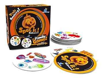 Amazon.com: Spot it! Halloween Card Game: BlueOrangeGames: Toys ...