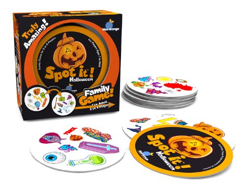 Spot it Halloween Card Game