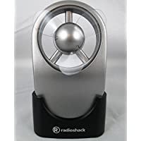 RadioShack Silver Touch Fan Handheld or Desktop Touch Activated Battery Operated