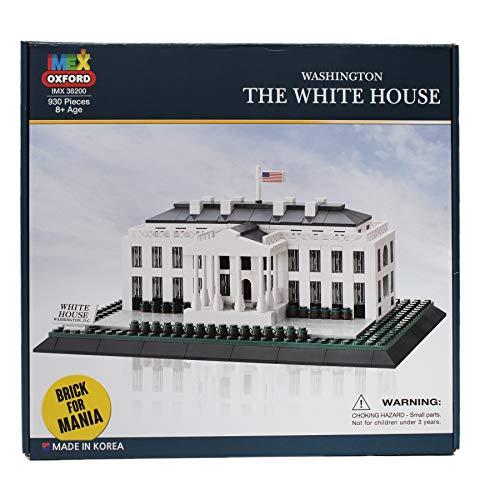 Oxford Washington D.C. The White House Building Block Set, 930 pcs from Oxford