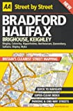 Front cover for the book AA Street by Street Bradford by AA