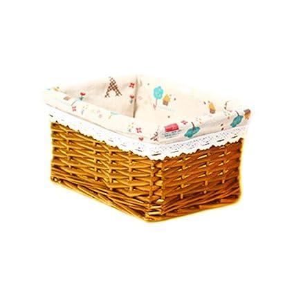 Cesta de almacenamiento, Frutas Cesto Estantería de cocina cesta ...
