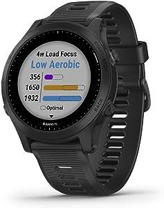 Garmin 010-02063-00 Forerunner 945, Premium GPS Running/Triathlon Smartwatch with Music, Black