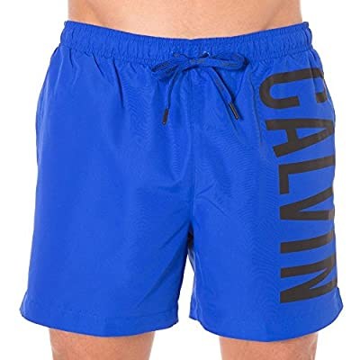 Calvin Klein Intense Power Casual Men's Swim Shorts, Bluebird