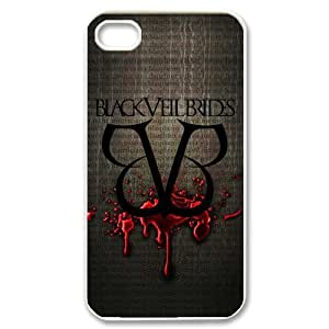 Fashion Style Black Veil Brides Post-hardcore Band BVB Hard Case Cover for iPhone 4 4S by mcsharks