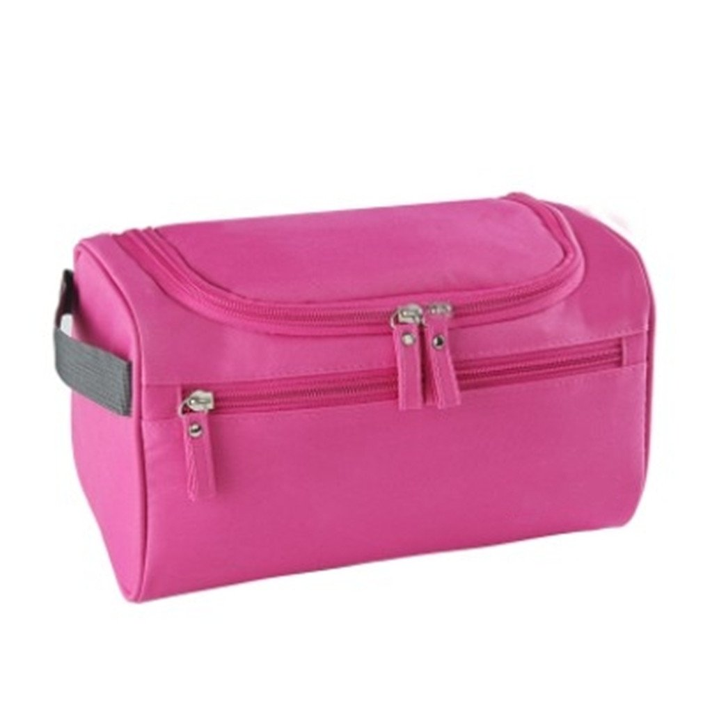 Amazon.com : Casual Women Men Portable Cosmetic Bag Beauty Organizer Case Wash Toiletry Necessaries Travel Large Waterproof Makeup Bag : Beauty