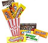 Movie Night Gift Pack In HD Popcorn Container Filled With 4 theater Candy Assortment