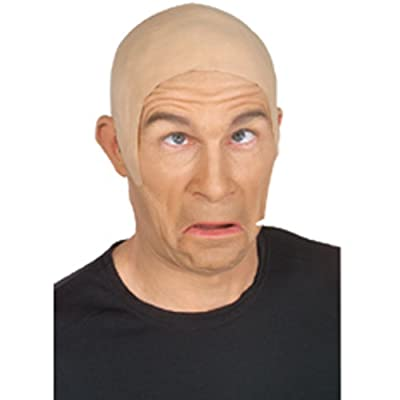 Rubie's Costume Co Latex Flesh Skin Head Costume, One Size, Beige: Toys & Games