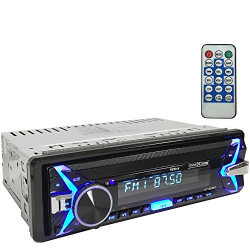 Soundxtreme St 928Bt In Dash Car Receiver Bluetooth Mp3 Am Fm Usb Aux Sd   Remote