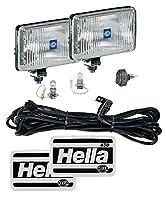 Hella 005860601 450 Fog Lamp Kit (clear Lens) H3 12v Sae/ece