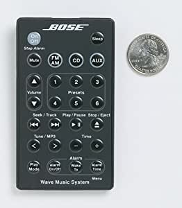 bose acoustic wave music system remote black home audio theater. Black Bedroom Furniture Sets. Home Design Ideas