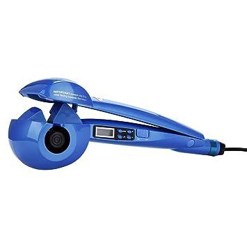 Rizador Del Pelo ,Herramientas Profesionales Para Peinar El Rizador De Pelo De Cerámica Del Rizador De Pelo De Pantalla Lcd Profesional -CkeyiN (Azul): ...