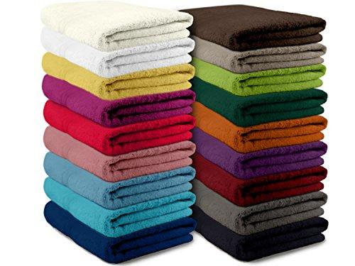 Packs zum Sparpreis - solide Frottiertücher - erhältlich in 16 modernen Farben und 8 verschiedenen Größen, 6er Pack Seiftücher (30 x 30 cm), grau