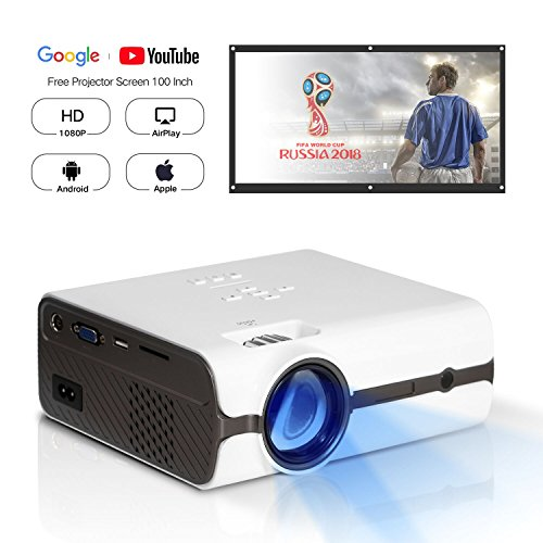 DOACE P3 HD 1080P Video Projector with...