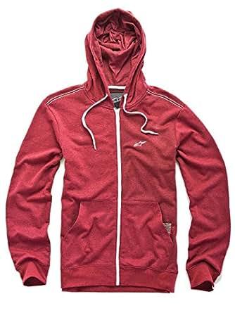 Alpinestars Proper Fleece Hoody - Mens - heather red, small