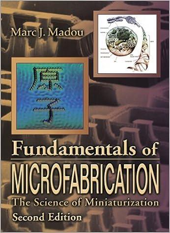marc madou fundamentals of microfabrication