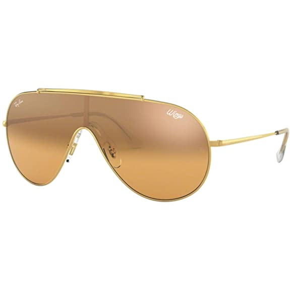 Amazon.com: Ray-Ban RB3597 - Gafas de sol con alas, 1.299 in ...