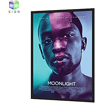 amazoncom illuminated backlit poster light box led