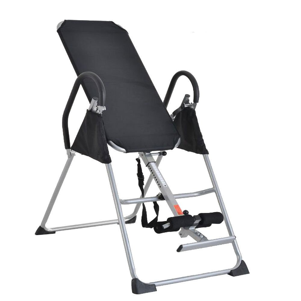 Foldable Inversion Table Chiropractic Therapy Fitness Back Relief Exercise by Pinna store
