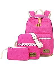 Mygreen Laptop Bag Shoulder Bag Purse Cute Bookbag Girls Backpack for School