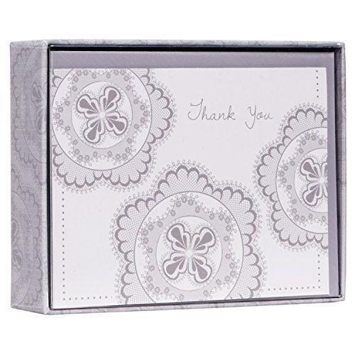 C.R. Gibson Boxed Thank You Notes, Regalia, 10-Count (CT6-13722) by C.R. Gibson