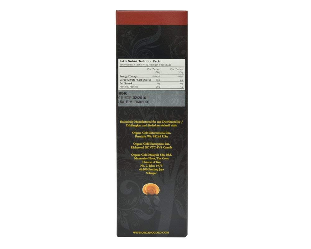 24 box Organo Gold Gourmet Black Coffee + 10 Zrii Rise Sachet FREE Express 2-3 Day by Organo Gold (Image #6)